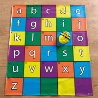 Bee-Bot and Blue-Bot Alphabet Mat. Model: IT00853