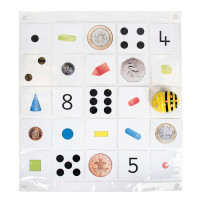 Bee-Bot Transparent Pocket Mat Size 4 x 6. Model: IT10125