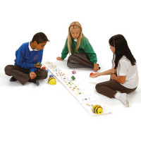 Bee-Bot and Blue Bot Number Line Mat. Model: FWALKN