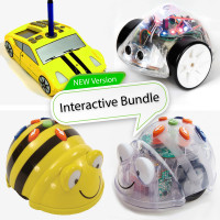 Bee-Bot Family Bundle.  Bee-Bot, Blue-Bot, Pro-Bot and Ino-Bot