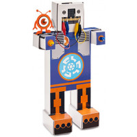 "Cardboard to Code Robot ""DIMM""  Best kits to start teaching coding. Includes your very own BBC Micro:bit"