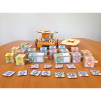 KIBO robot kit -  with 18 programming blocks