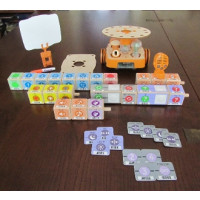 KIBO, screen-free robot kit for kids. 4-7 years old. 21 Blocks Kit (advance plus level)