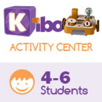KIBO Activity Center, screen-free robot kit for 4-6 kids. 4-7 years old. 18 Blocks Kit (advance level)