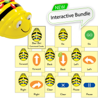 Bundle 6 Bee-Bot Floor Robot and 6 Command cards