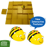 Bundle 2 Bee-Bot Floor Robot and Changeable Maze