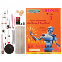 Kidder Tronix Lab 3 - Basic Electronics Oscillators and Amplifiers Lab Manual & Part Kits