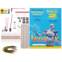 Kidder Tronix Lab 2 Basic Digital Concepts and Op Amps Lab & Parts Kit