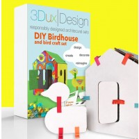 3DuxDesign Birdhouse Party Pack 10 Set