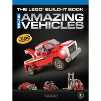 LEGO Build-It Book Vol. 2: More Amazing Vehicles. Product Code: 730805