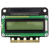 Kitronik :VIEW text32 LCD Screen for BBC micro:bit, Product Code: 5650