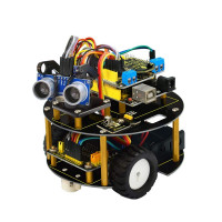 KEYESTUDIO Turtle Robot Car Kit - for Arduino UNO R3 with Line Tracking & Obstacle Avoidance