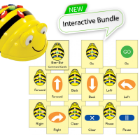 Bundle Bee-Bot Floor Robot and Command cards