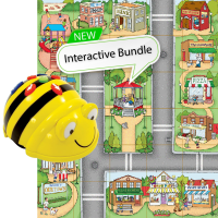 Bundle Bee-Bot Floor Robot and Community Mat