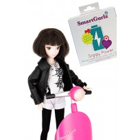 Siggy Battery Pack and Bundle Jun STEM doll from Smartgurlz