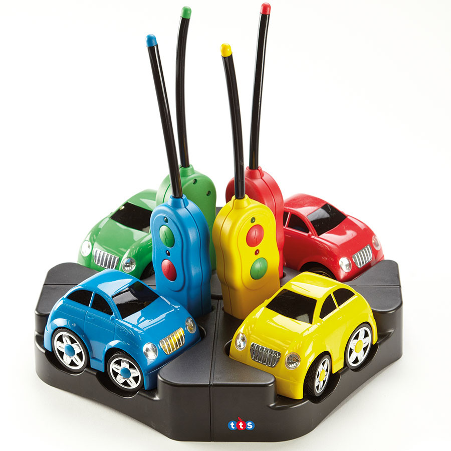 Rechargeable Remote Control Easi Cars Set Of 4 Cars