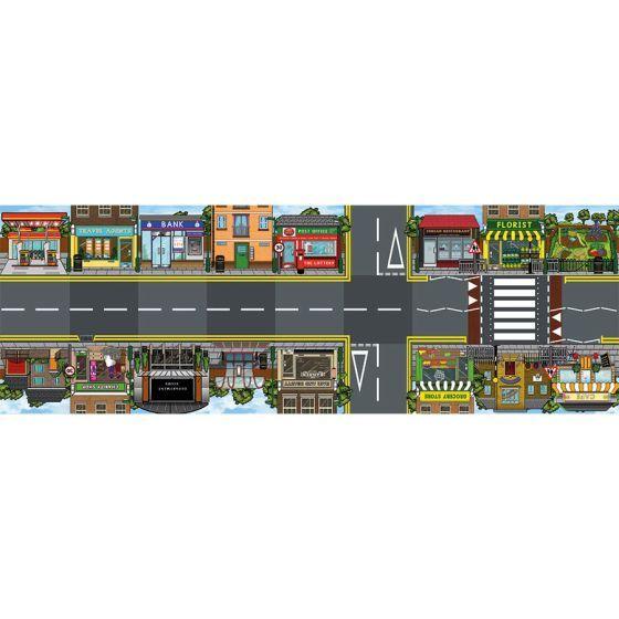 TTS Bee-Bot Busy Street Mat. Model:  IT10131