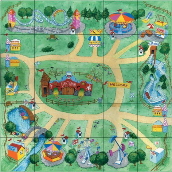Pro-Bot Amusement Park Mat. ITSAMPK