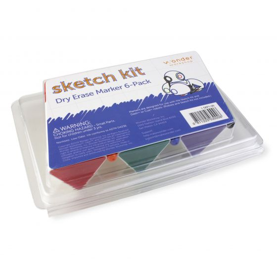 Marker Refill Kit for Dash or Cue robots. DSH030-P
