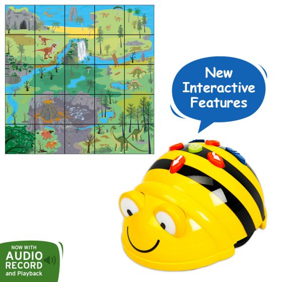 Bundle Bee-Bot Floor Robot and Dinosaure Mat