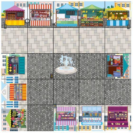 Bee-Bot Marketplace Mat. Product Code: 708-IT10154