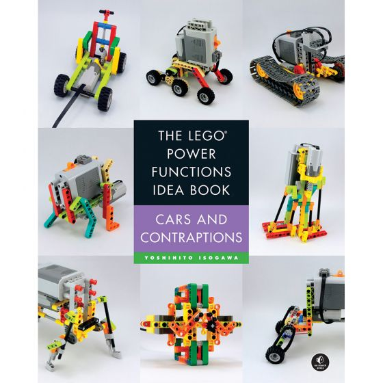 The LEGO Power Functions Idea Book, Volume 2: Cars and Contraptions. Product Code: 730807