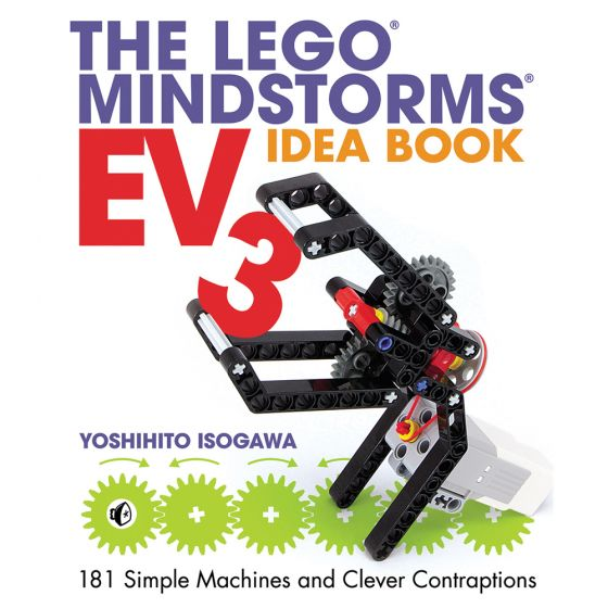 The LEGO MINDSTORMS EV3 Idea Book: 181 Simple Machines and Clever Contraptions. Product Code: 730808