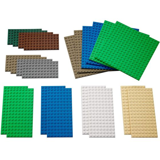 LEGO Education Small Building Plates. Product Code: 731701