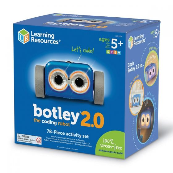 Learning Resources Botley 2.0 the Coding Robot Activity Set. LER 2938