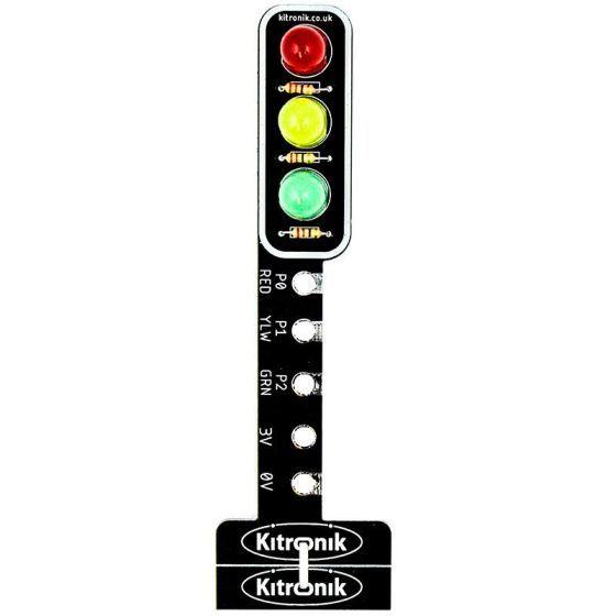 Kitronik STOP:bit - Traffic Light for BBC micro:bit, Product Code: 5642