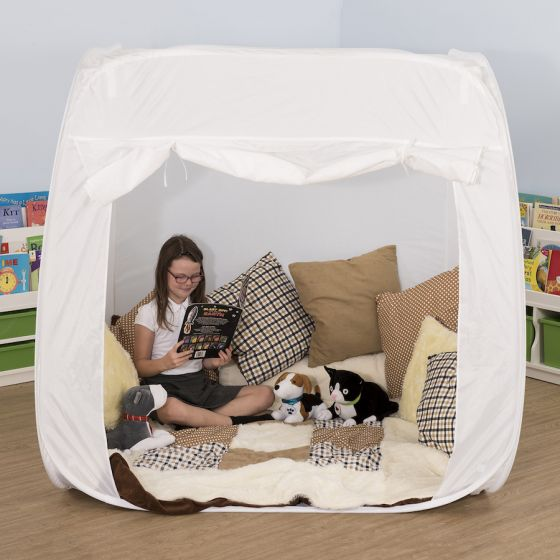 TTS Group UK Pop-Up Sensory Space White, Product Code: SD10060