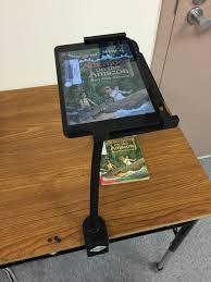 HUE Flexible Tablet Stand. Black