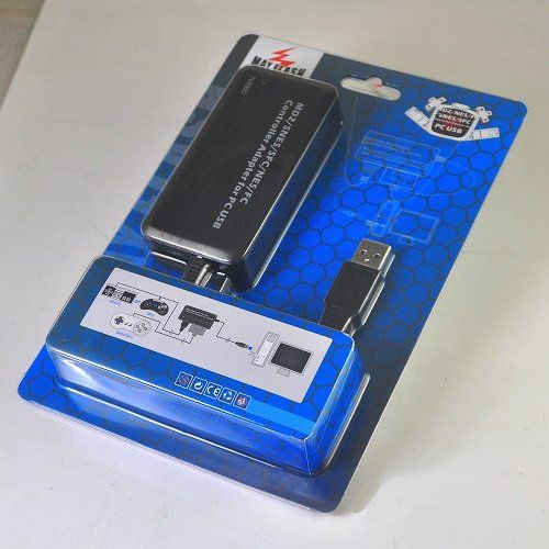 MD2/SNES/NES Controller Adapter for PC USB