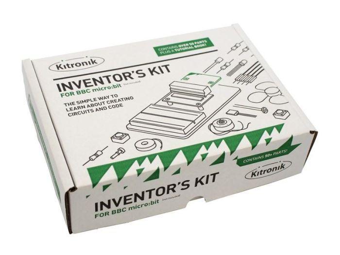 Kitronik Inventor's Kit for BBC micro:bit, Product Code: 5603