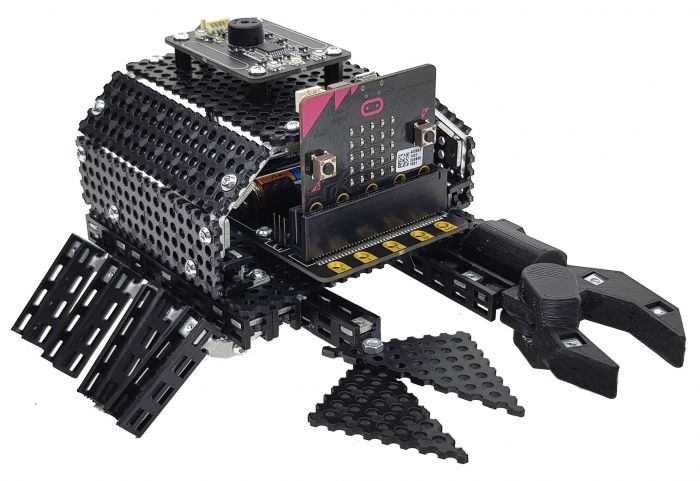 Code your Totem Crab and See it Come Alive! BBC Micro:bit included