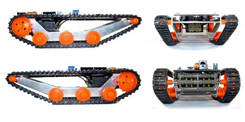 DFRobotShop Rover V2 - Arduino Compatible Tracked Robot (Basic Kit). Product Code : RB-Rbo-33