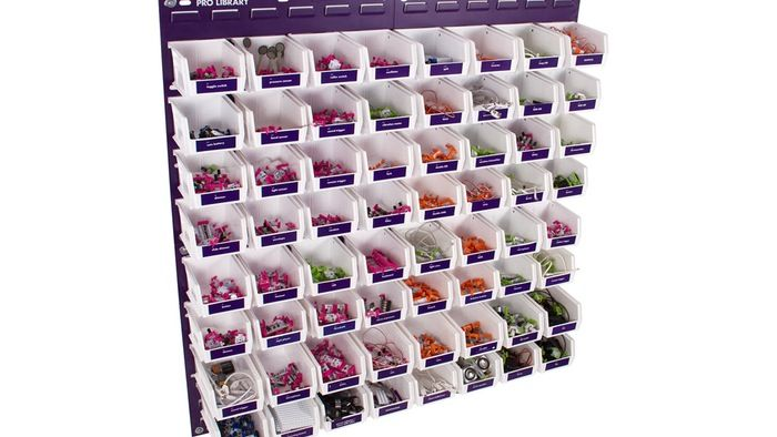 LittleBits Pro Library with Wall Storage