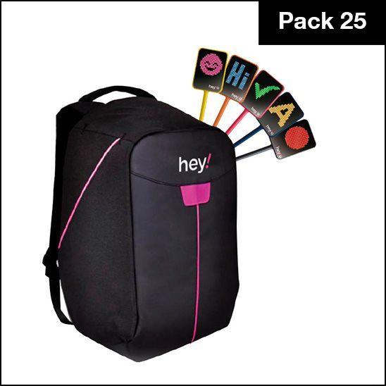hey!U – USB Pack of 25 units - Pink