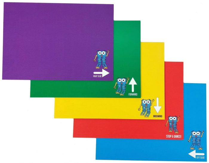 Colour Cards for Marty Robot
