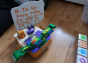 KIBO Small Classroom Pack, screen-free robot kit for 10-12 kids. 4-7 years old. 21 Blocks Kit (advance plus level)