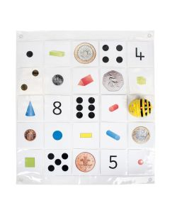 Bee-Bot Transparent Pocket Mat Size 4 x 6. Model: IT10125