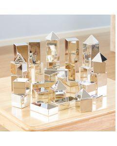 Metallic Mini Construction Blocks 32pcs. Product Code: EY07486