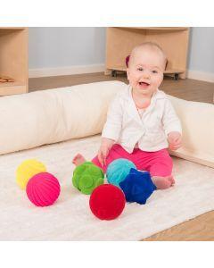 Rubbabu Baby Sensory Balls 6pk. Product Code: EY07502