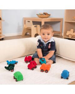 Rubbabu Baby Tactile Vehicles 8pcs. Product Code: EY07503
