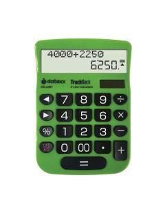 Datexx 2-Line TrackBack Desktop Calculator. DD-2361