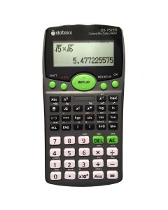 Datexx 2-Line Scientific Calculator with Natural Textbook Display. DS-782ES