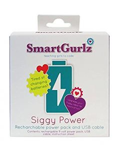 Siggy Power - Rechargeable USB  Li-Po Battery unit for Smartgurlz