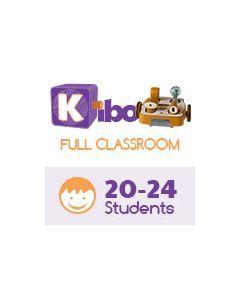 KIBO Full Classroom Pack, screen-free robot kit for 20-24 kids. 4-7 years old. 18 Blocks Kit (advance level)