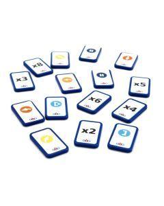 Blue-Bot Tactile standard tile pack - 25 Tactiles Extension pack. EL00546