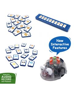 Blue-bot Tactile Pack: Blue-bot  Robot, Tactile Reader Set and  tactile cards extension pack